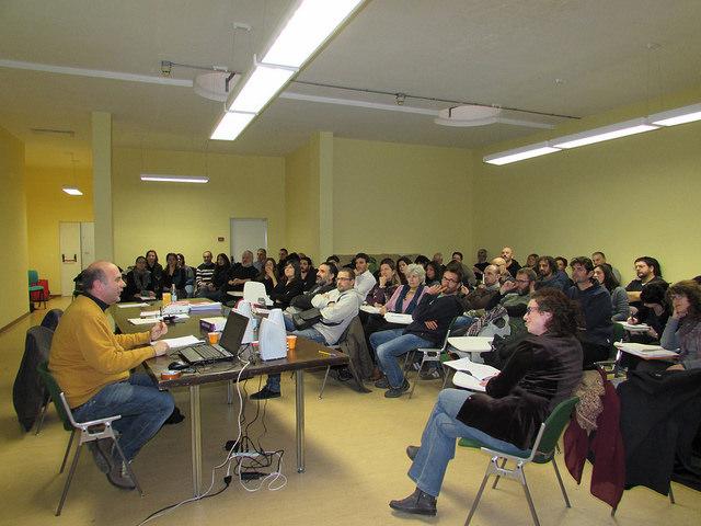 Immagini dalla Winter School di Rimini