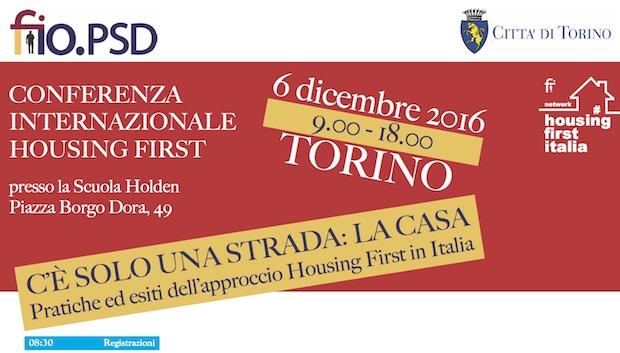 C'è solo una strada: la casa – Torino 6 dicembre 2016
